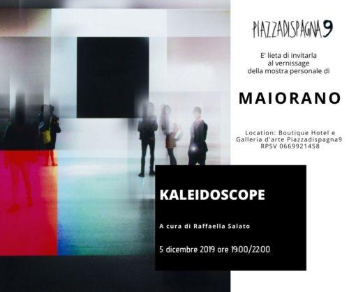 """Kaleidoscope, la mostra di Serafino Maiorano alla Boutique Hotel & Art Gallery """"Piazza di Spagna 9"""" di Roma"""