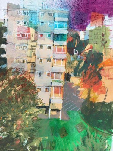 Approaches/Approcci, la mostra con le opere di Carolyn Angus, John Dargan, Nina Eaton alla la Galleria Il Laboratorio di Roma