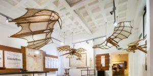La Mostra di Leonardo del Palazzo della Cancelleria di Roma, vola a Dublino