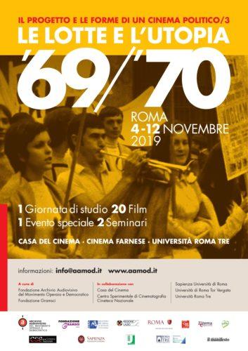 Le lotte e l'utopia 1969/70: l'evento speciale Contratto di Gregoretti al Cinema Farnese
