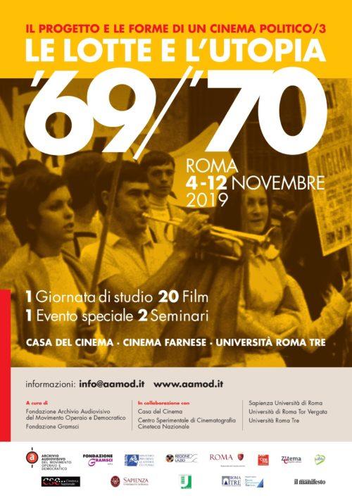 Le lotte e l'utopia 69/70: il programma del 4 novembre