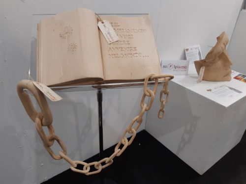Le sculture dei detenuti del Due Palazzi in mostra alla 30^ ArtePadova fino al 18 novembre