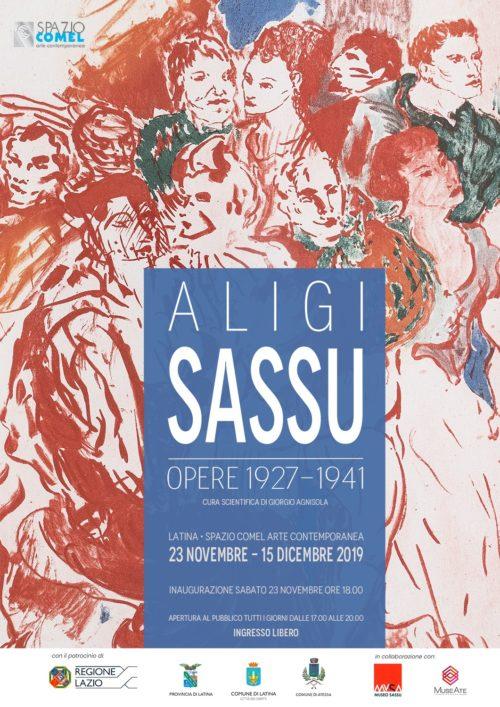 Aligi Sassu, pitture su carta, inchiostri, matite colorate, opere grafiche dal 1927 al 1941 in mostra allo Spazio COMEL Arte Contemporanea di Latina