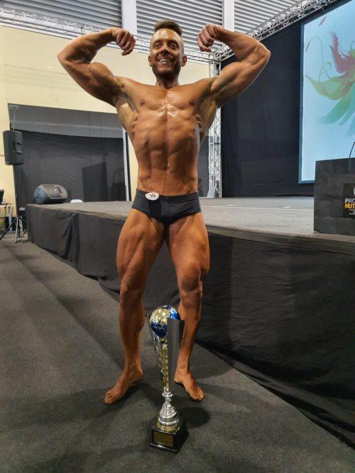 Luca Baldo di Udine è Mister Universo di body building Natural. Vincitore oggi a Tuttinfiera – Fiera di Padova