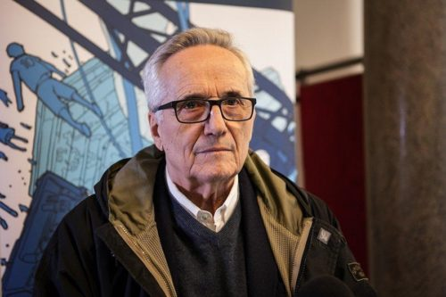 Marco Bellocchio presenta il film Il Traditore all'Auditorium Parco della Musica di Roma