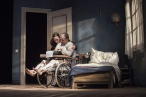 Misery di William Goldman e tratto dal romanzo di Stephen King in scena al Sala Umberto di Roma