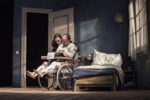 Misery di William Goldman e tratto dal romanzo di Stephen King in scena al Sala Umberto di Roma