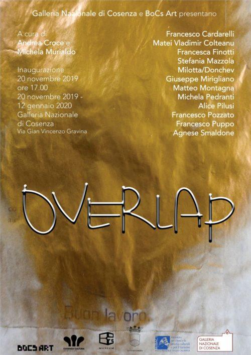 Overlap, la mostra alla Galleria nazionale di Cosenza