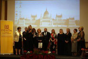 Gemellaggio tra i Club Budapest City e Roma Parioli III in occasione del centenario Zonta all'Accademia D'Ungheria