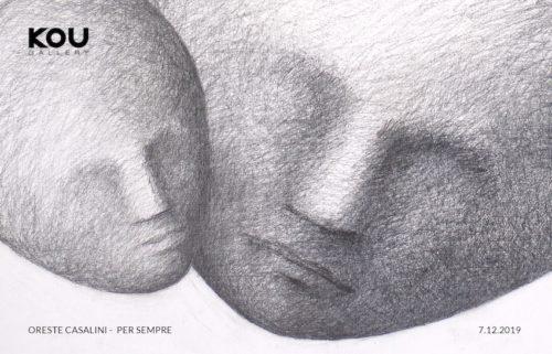 Per sempre, la nuova mostra di Oreste Casalini alla Kou Gallery di Roma