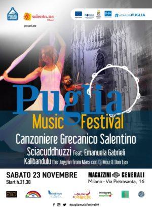 Puglia Music Festival, una festa dedicata alla Puglia all'insegna della buona musica e della convivialità