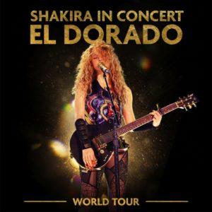 """""""Shakira in concert: el dorado world tour live"""", il nuovo album live di Shakira"""