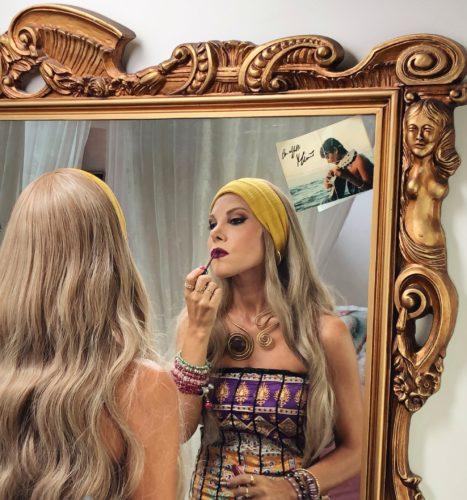 Shara realizza il video di Infinitamente Mia, il brano composto per Mia Martini