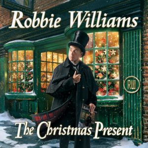 "Robbie Williams: esce il suo primo disco di Natale ""The Christmas Present"""