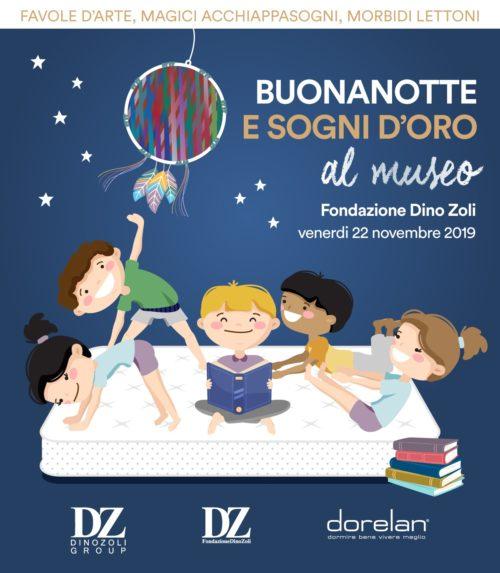 Buonanotte e sogni d'oro alla Fondazione Dino Zoli di Forli