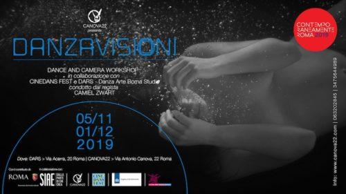 Danzavisioni Cinedans Dance And Camera Workshop condotto dal regista Camiel Zwart al Macro di Roma