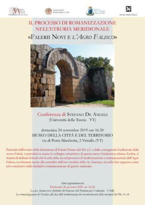 Il processo di romanizzazione nell'Etruria Meridionale. La serie di tre conferenze