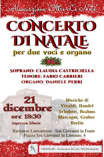 Concerto di Arie Sacre al Battistero Lateranense di Roma