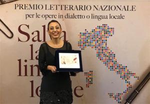 """A Eleonora Bordonaro il premio letterario """"Salvala tua lingua locale"""""""