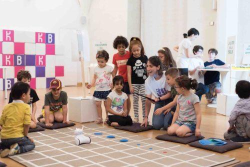 Bambini progettano il futuro. Kidsbit Roma