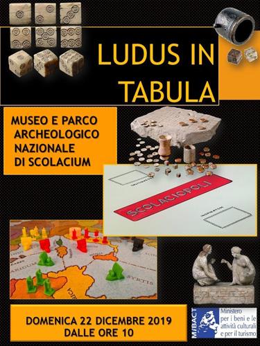 Ludus in tabula, l'appuntamento al Museo e Parco Archeologico Nazionale di Scolacium a Roccelletta di Borgia – Borgia