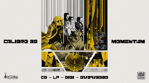 """Record Kicks presenta """"MOMENTUM"""", il nuovo album dei Calibro 35, in uscita il 24 gennaio 2020"""