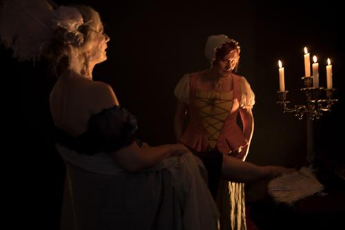 """""""Tosca e altre due"""", l'omaggio a Franca Valeri con Cinzia Massironi e Elisabetta Spinelli al Teatro Belli di Roma"""