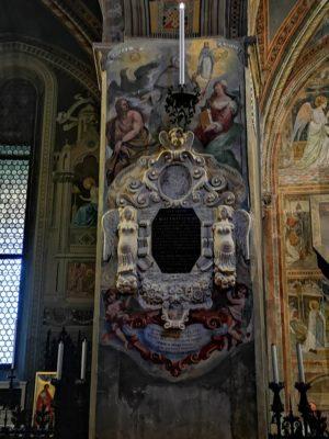 Restaurato il monumento a Matteo Ferchio, teologo e docente di Metafisica all'Università di Padova per trentacinque anni