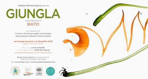 Il Museo Tonino Guerra presenta Giungla la mostra personale di Bato a Santarcangelo di Romagna