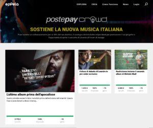 PostepayCrowd 2019. Giro di boa per l'ultima call: già 3 artisti cofinanziati!