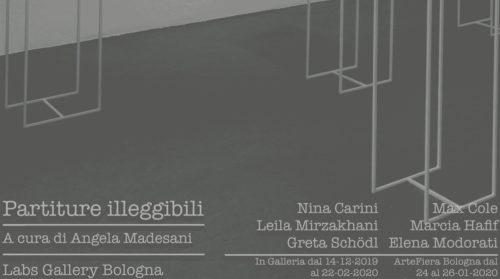 Partiture illeggibili, a cura di Angela Madesani. Artiste a confronto
