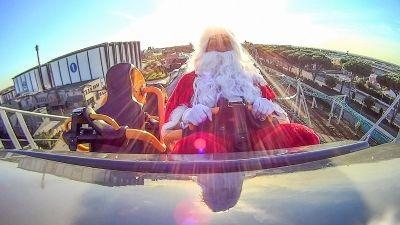 Il giro del mondo in compagnia di Babbo Natale a Cinecittà World