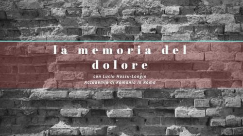 La memoria del dolore – 21 fotogrammi passati alla storia all'Accademia di Romania in Roma