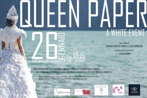 Queen Paper, un white event ad Interno 4 a Roma