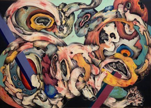 In Between, la mostra di Ahmed Alsoudani a Palazzo Cipolla di Roma