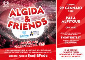 Algida & Friends con special guest Benji e Fede a sostegno dell'inclusione scolastica e dei bambini ospedalizzati