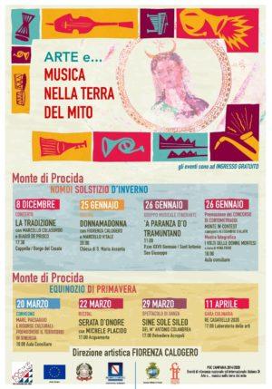 Arte e musica nella terra del mito nell'ultimo weekend di gennaio a Monte di Procida