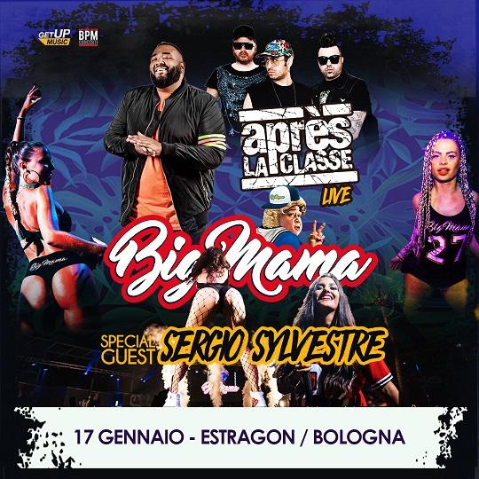 Après La Classe e Big Mama & Sergio Sylvestre ospiti speciali all'Estragon di Bologna