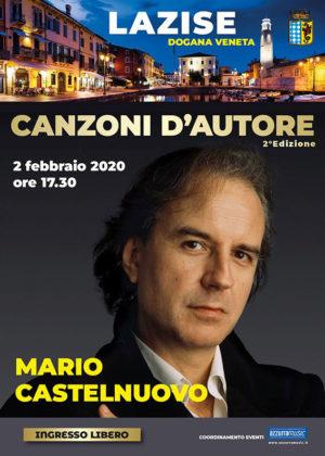 Mario Castelnuovo ospite della rassegna Lazise – Canzoni D'Autore alla Dogana Veneta