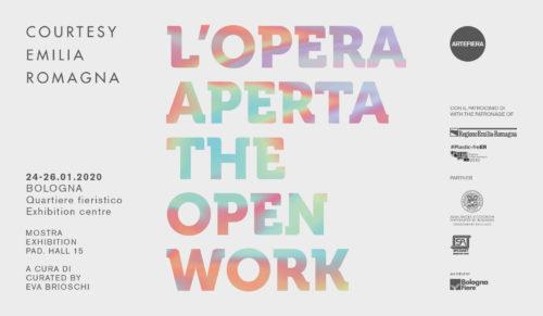 Courtesy Emilia-Romagna, al via la seconda edizione con L'opera aperta a cura di Eva Brioschi