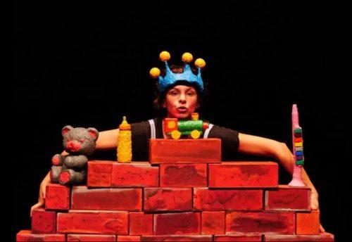 """""""Di qua e di là, storia di un piccolo muro"""" lo spettacolo per bambini allo Spazio Teatro 89 di Milano"""