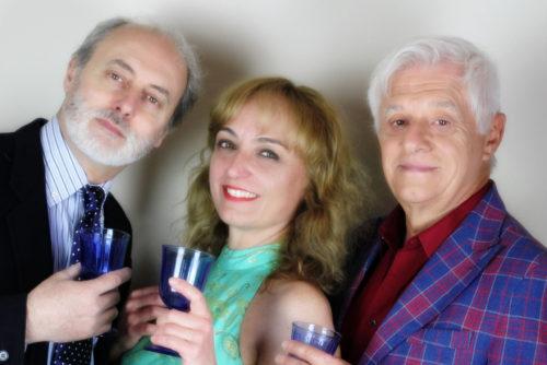 Cocktail per tre con Franco Oppini Miriam Mesturino e Marco Belocchi in prima nazionale al Teatro Marconi di Roma