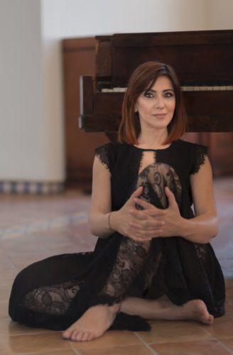 """Giuseppina Torre in onda su Radio Monte Carlo, all'interno del programma """"Monte Carlo Nights"""""""