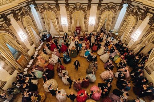 Gran Ballo Russo a Palazzo Brancaccio in onore di Anton Čechov con Daria Baykalova, Maria Ermachkova e Maria Pia Ruspoli