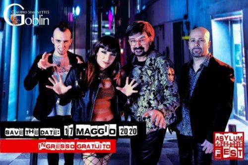 I Goblin chiudono l'Asylum Fantastic Fest con un concerto il 17 maggio