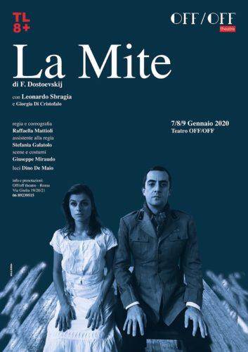 """""""La Mite"""", testo adattato da Rossana Banti e Raffaella Mattioli, debutta in prima nazionale all'OffOff Theatre di Roma"""