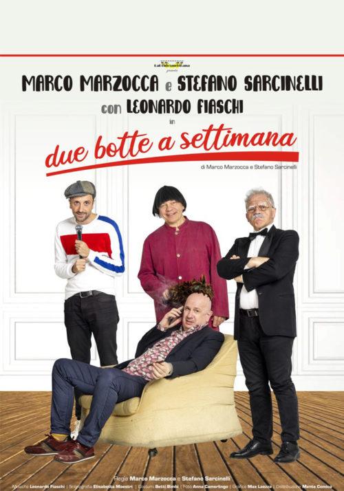 Due botte a settimana, la pièce in scena al Teatro Roma