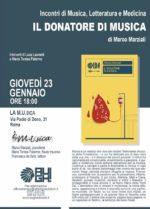 """""""Il donatore di musica"""", il nuovo libro dell'immunologo Marco Marziali"""