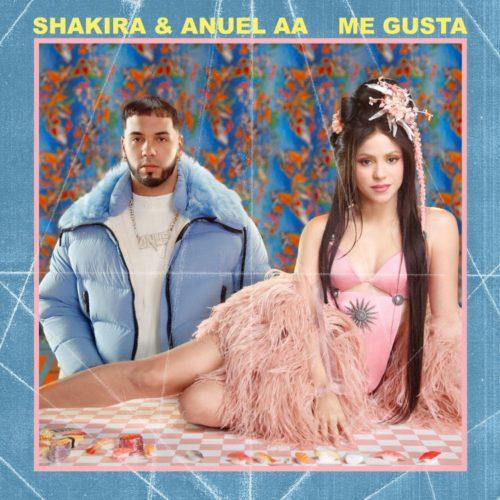 """""""Me gusta"""", il nuovo singolo di Shakira con il cantante e rapper portoricano Anuel Aa"""
