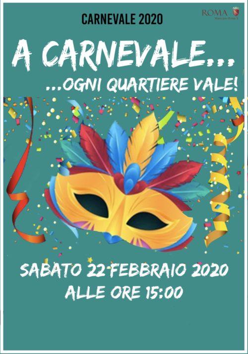 Municipio X di Roma, Carnevale del Mare: gli appuntamenti di domenica e martedì